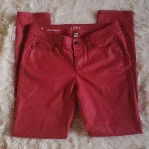 Ann Taylor Loft Modern Skinny Pants sz 4